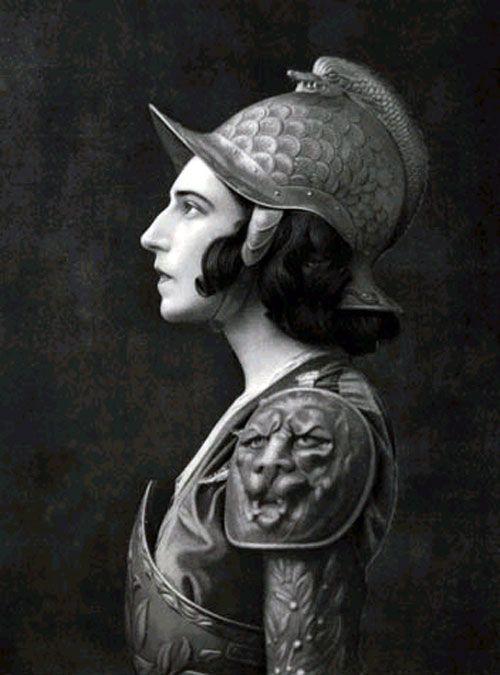 Ida as Saint Sebastian